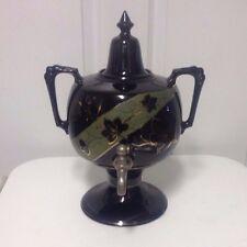 Antique Victorian English c1880/1890 Jackfield Earthenware Teapot - Rare!