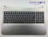 NEW HP 15-AY039WM 15-AY PALMREST KEYBOARD CASE W/ TOUCHPAD AP1O2000320 US Seller