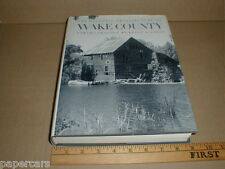 Wake County North Carolina history Architecture homes buildings 1994 Wake Forest