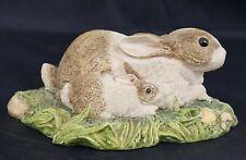 Beswick Contentment - Mother Rabbit & Baby Rabbit