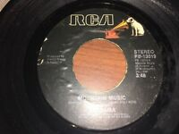 """Alabama """"Mountain Music""""/ """"Never Be One"""" 45 on RCA Label In VG+"""
