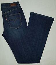 Womens levis demi curve classic boot cut denim jeans sz 27 x 34