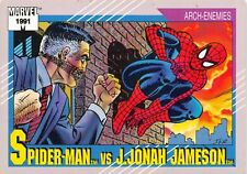 SPIDER-MAN VS. J. JONAH JAMESON / Marvel Universe Series 2 (1991) BASE Card #121