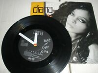 "Diana Ross Work In Overtime b/w Instrumental 7"" Vinyl Single 1989 EMI EM 91"