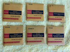 Vintage Kodak ~ ((6)) Color Compensating Gelatin Filters ~ SEALED PACKS