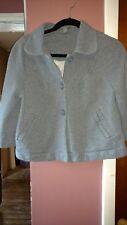 Apt 9 Women's Junior Medium Heavy Gray Cotton Bolero Jacket