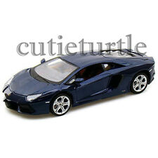 MAISTO Lamborghini Aventador LP 700-4 1:24 Diecast Model Car 34210 Blue