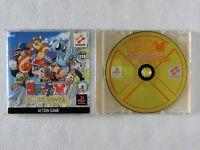 CROKET KINDAN NO KINKA BOX PS1 KONAMI Sony Playstation From Japan