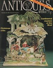 ART & ANTIQUES WEEKLY (26 December 1976)CUCUMBER GLASS - THE BROD GALLERY -CRIBS