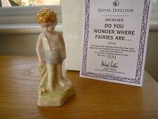 Royal Doulton archivos? se preguntan dónde están las Hadas.. HN4429 Ltd Ed En Caja