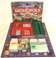 Monopoly Alton Towers Resort Limited Edition Board Game 2010 Parker 100%Complete