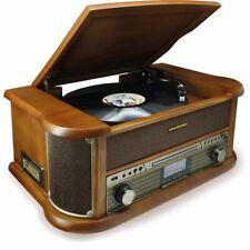 Soundmaster NR546BR DAB+ Plattenspieler Audio Technica Magnettonabnehmersystem
