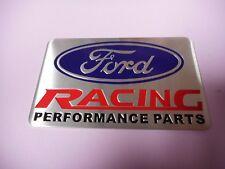 """New """" Ford Racing Performance Parts """" Emblem Plaque Metal"""