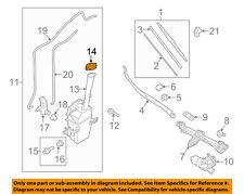 KIA OEM 15-16 Sedona Wiper Washer Fluid-Reservoir Tank Cap Lid 98623A2000