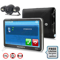XGODY 5'' 560 8GB GPS Navigation Bluetooth Wireless Reversing Camera AU Map