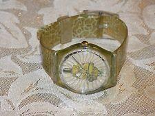Unique Rare  Vintage 1994 AG Swiss SWATCH S514  India??  Band  Quartz Watch