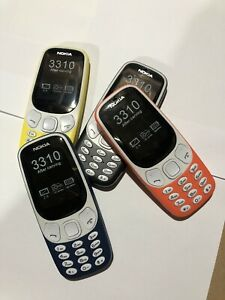 Dual SIM Nokia 3310 2G Basic Phone For Calls & Texts Unlocked Random Colour Only