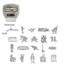 Sizzix - Tim Holtz - eclips - Cartridge - Stamp 2 Cut - No. 13 - Halloween