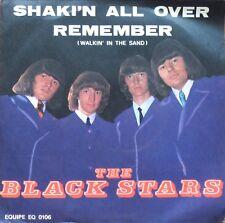 The Black Stars Shakin' All Over / Remember Vinile 45 Giri 1967 RARE