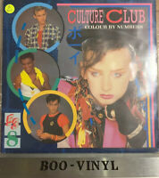 "CULTURE CLUB ""COLOUR BY NUMBERS "" LP (1983)VIRGIN RECORDS V2285 EX CON VINYL"