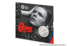 2020 David Bowie - UK Music Legends £5 BU Coin in Royal Mint Packaging