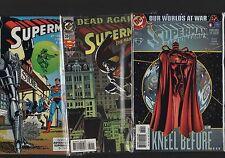 Superman mix  #39 1994 + #46 1990 + #780 2001  C2.391