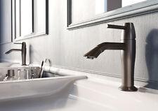 Designer Waschtischarmatur Einhebelmischer graphit mit Pop-Up-Ablaufventil