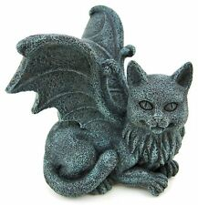 Cat Gargoyle PC Monitor TV LCD Desktop Computer Topper Shelf Sitter Figurine
