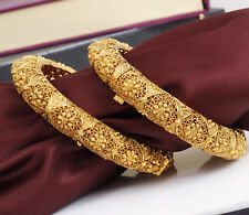 Indian Bollywood Gold Plated Ethnic Wedding Polki Bangles Bracelets New Jewelry