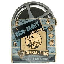 1930s Dick & Larry Cartoon 16mm Film Reel Happy Hoboes Official B&W Funny F2