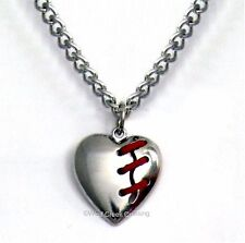 MEND A BROKEN HEART NECKLACE - LOST LOVE - BROKEN HEARTED - FREE SHIP  LgHt24C*