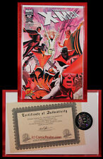 Uncanny X-Men #500 G Signed by Alex Ross Variant COA Sealed NM/M+!