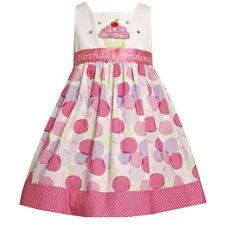 NWT Bonnie Jean Girls Princess Polka Dot Cupcake Pastel Birthday Party Dress 5