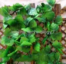 154' artificial grape IVY garland wired silk Plant leaf Home wedding party decor