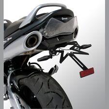 Support de Plaque éclairage  feu  CLIGNOTANT ERMAX Suzuki GSR 600 PEINT