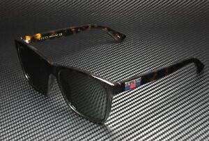 GUCCI GG0746S 003 Square Injection Havana Dk Havana Green 57 mm Men's Sunglasses