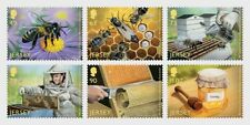 Jersey 2017 - 100 Years of the Jersey Beekeepers Association - stamp set mnh
