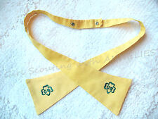 TIE for GIRL SCOUT Junior UNIFORM 1960s EUC w/Trefoil OFFICIAL Combine Ship