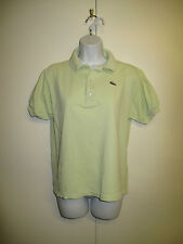 Genuine Vintage Lacoste Green Short Sleeved Polo Shirt - UK 10 Euro 38