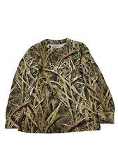 Ranger camo long sleeve shirt hunting shirt mossy oak real tree Youth S