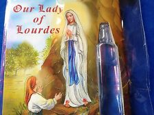 Holy Water Vial Direct From LOURDES Healing Devotion Our Lady US Seller FRANCE