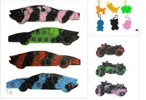 Car,Motorbike tie dye pop it Autism Sensory Special needs fidgets