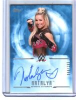 WWE Natalya 2017 Topps Undisputed Blue On Card Autograph SN 69 of 199