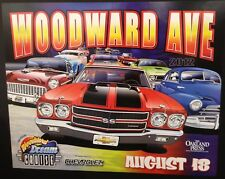 2012 Woodward Dream Cruise Poster