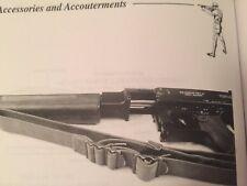 WWII M1923 Sling Military AOC Thompson 1921 Garand M1 Springfield 1903 Enfield
