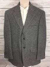 TOWNCRAFT 100% Wool TWEED Blazer Men's Size 40R jacket / sport coat HERRINGBONE