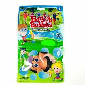 Zing Big A Bubbles Toys Games Make Bigger Bubbles Solution 2.54 Oz Lion NEW