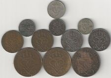 11 DIFFERENT & OLDER COINS from SWEDEN (6 TYPES & 5 DENOMINATIONS/1920-1950)