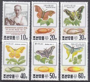 Korea (N) - 1991 - MNH - (Stamp 3191-3196) Butterflies