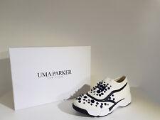 Sneakers Donna Uma Parker .Sconto -65 % Art.1688-7-708-10 Col.Bianco-Nero